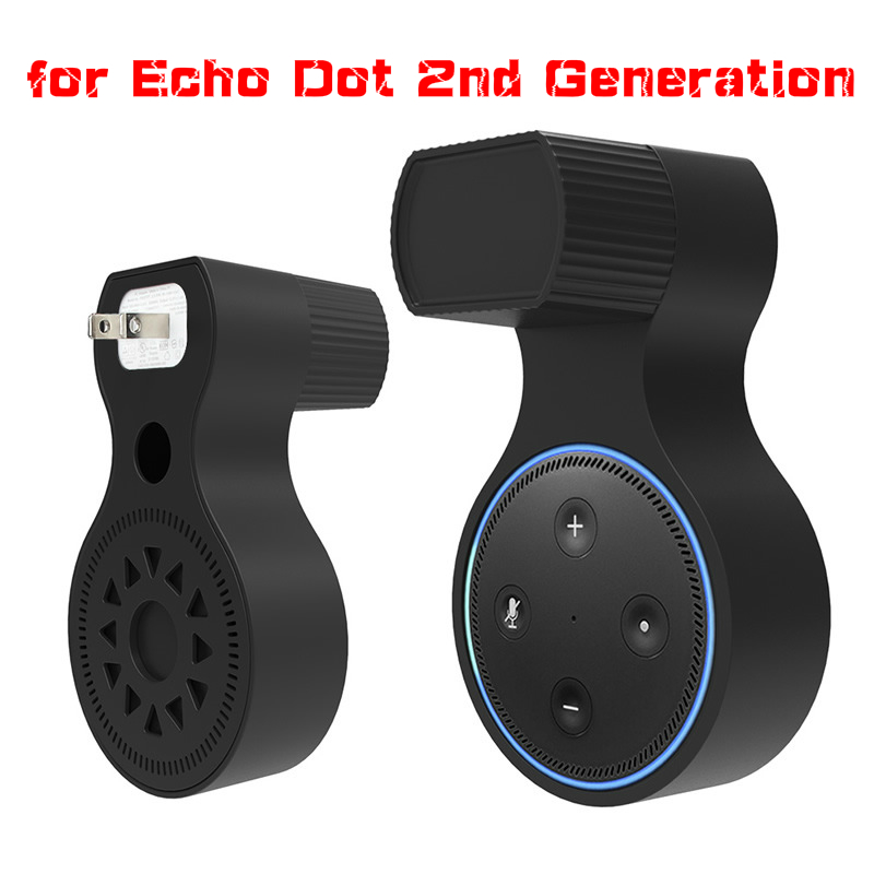 Wall Mount Hanger Stand For Echo Dot 2nd Generation For Round Smart Voice Assistants Speaker Holder Speaker Stand