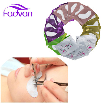 Fadvan Eyelash Patches For Building 50 Pairs Lint-free Makeup Eyelashes For Extensions Grafting Under Eye Pads