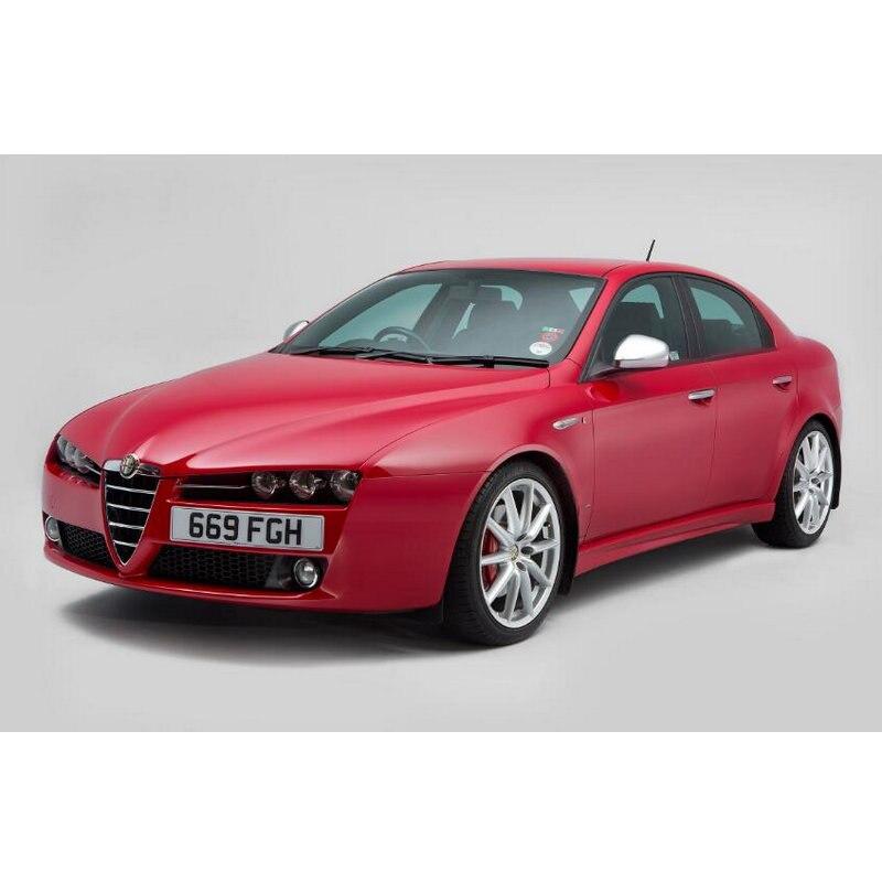 Autocollants pour voiture, pour la poignée porte intérieure, pour lampe d'ambiance, pour voiture Alfa Romeo, 159, 145, 146, 147, 155, 156, 164, 166, 33, 4 pièces