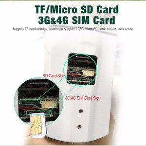 Image 3 - 1080P 3G i 4G Bullet kamera PTZ na zewnątrz 10X Zoom optyczny kamera na kartę SIM 2MP P2P wsparcie Max 128G karta Micro SD do przechowywania