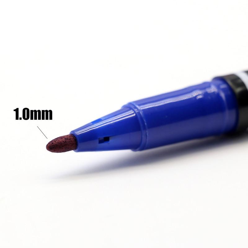 3 PCS Marker Pens Skin Marker Pen Scribe Tool permanent Tattoo Supplies Good Waterproof Ink Thin Nib Crude Nib New Portable 3