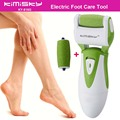 Green smooth strong electric pedicure tool Foot Care Cleansing Exfoliating Foot Care Tool +2ps For scholls function roller heads
