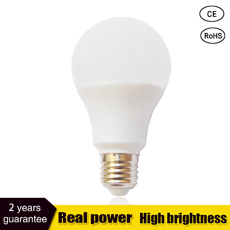 Led Bulbs 3000k E27 Led Lights 3W 6W 9W 12W 15W 18W 21W Energy Saving Cool White Screw In Light Bulbs For Home