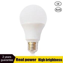 Led Bulbs SMD2835 E27 B22 3W 5W 7W 9W 12W 15W 18W LED Lamps 110V 220V 230V 240V Light Bulb For Home Led Spotlight Lamps