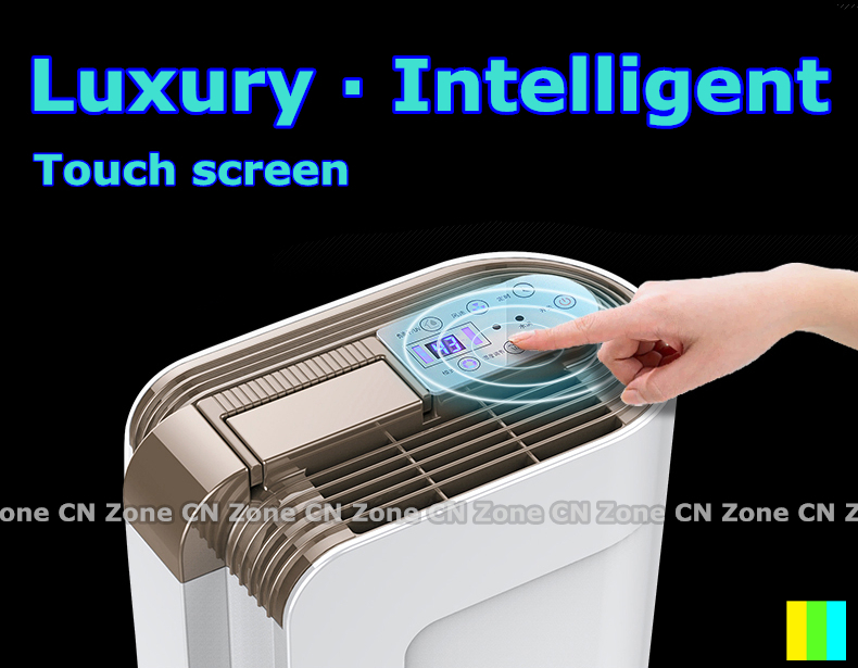 Free shipping Luxury Intelligent dehumidifier for home moisture absorber purify air dryer large coverage 10 - 220 square meters