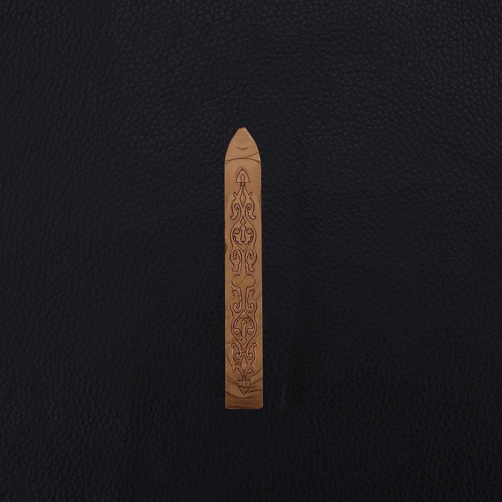 Ретро уплотнительная Восковая Палочка для штампы буквы уплотнение плавления свечи конверт пригласите - Цвет: bronze
