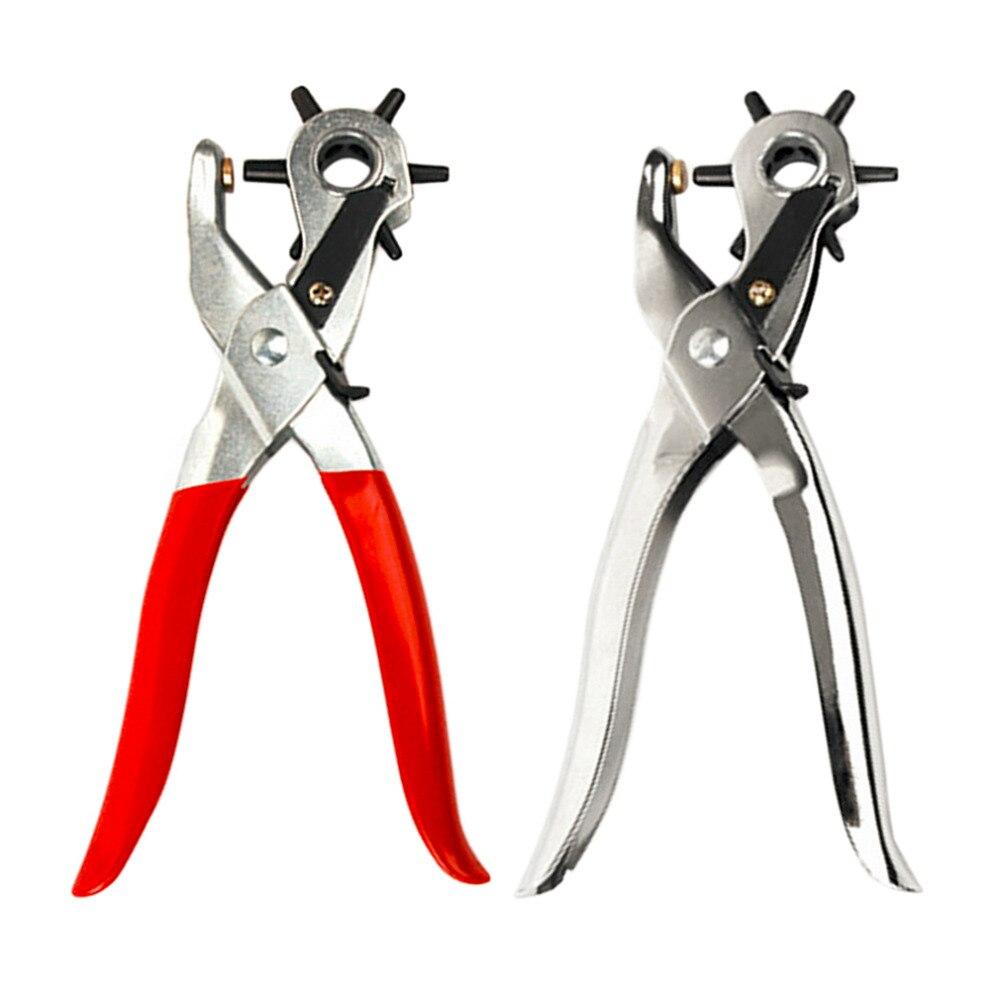 2017 250g profissional ultra duro cinto de couro buraco puncher mão máquina ferramenta perfurador seis tamanhos buraco 2/2.5/3/3.5/4/4.5mm