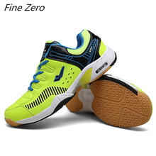 Высокое качество, Мужская обувь для бадминтона, удобные мужские кроссовки для тренировок, дышащие, не скользящие, светильник, кроссовки, пара, спортивная обувь для фитнеса
