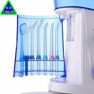 Image 5 - خيط تنظيف الأسنان الأصلي من LINLIN أداة تنظيف الأسنان عن طريق الفم مجموعة تنظيف الأسنان عن طريق الفم