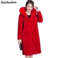 Woman S Fur Winter Faux Coats Women Long Loose Fox Ponch Outerwear Female Warm Coats For