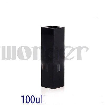 100ul 10mm de comprimento de caminho sub micro jgs1 quartzo fluorescencia cuvete com