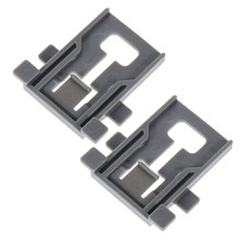 2Sets W10195840 Dishwasher Rack Adjuster Positioner Replacement Part Parts Fits for KitchenAid