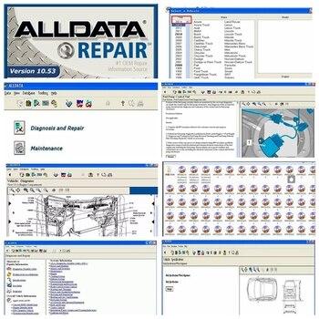 2020 Hot sale Alldata Software auto repair diagnostic tool All data 10.53 in hdd usb3.0 alldata repair version 10.53 software