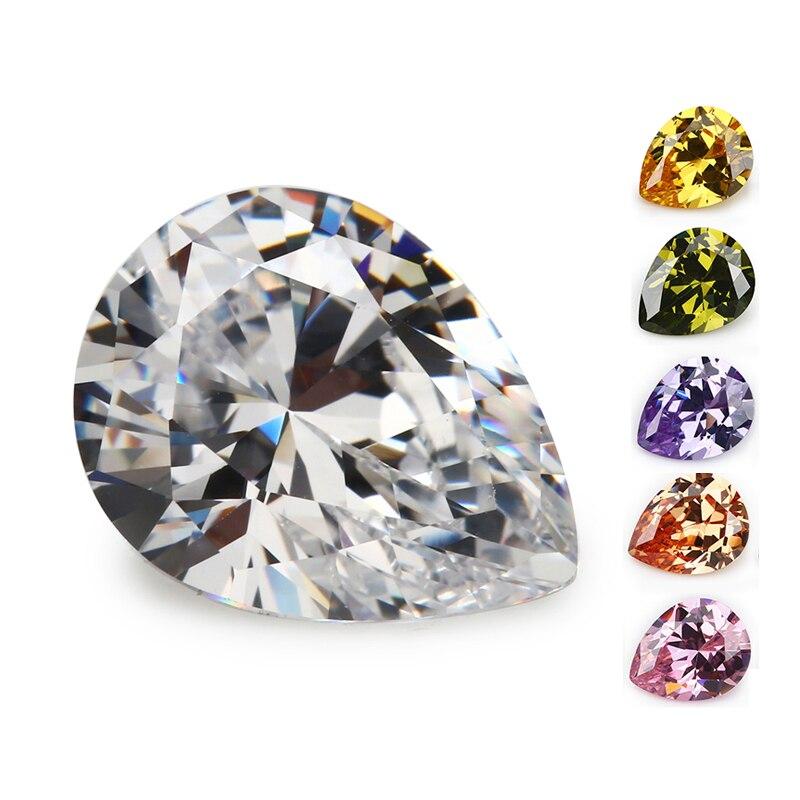 50pcs 3x5~13x18mm Octangle Princess Cut Aaaaa Dark Blue Loose Cubic Zirconia Gems Cz Stone For Jewelry Diy Stone 2019 New Fashion Style Online Jewelry & Accessories Beads