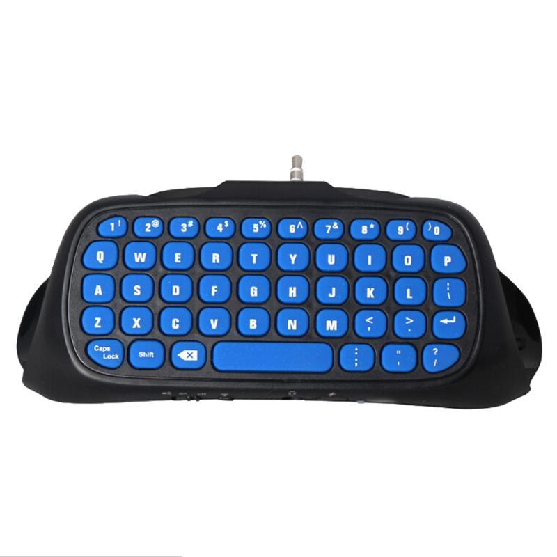 1 Piezas Mini Usb Inalámbrico Bluetooth Chatpad Mensaje Teclado Para Ps4 Ps4slim Controlador 2,4g De Alta Calidad