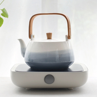 220v PC Electric Ceramic Stove Heaters Brief Tea Water Pot Coffee Milk Kettle Teapot Drinkware Teaware / Boil Kettle Holder Gift