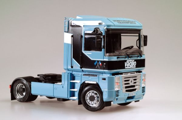 Assemble 1:24 container trailer model Blocks Kits 1 14 tamiya semi container trailer