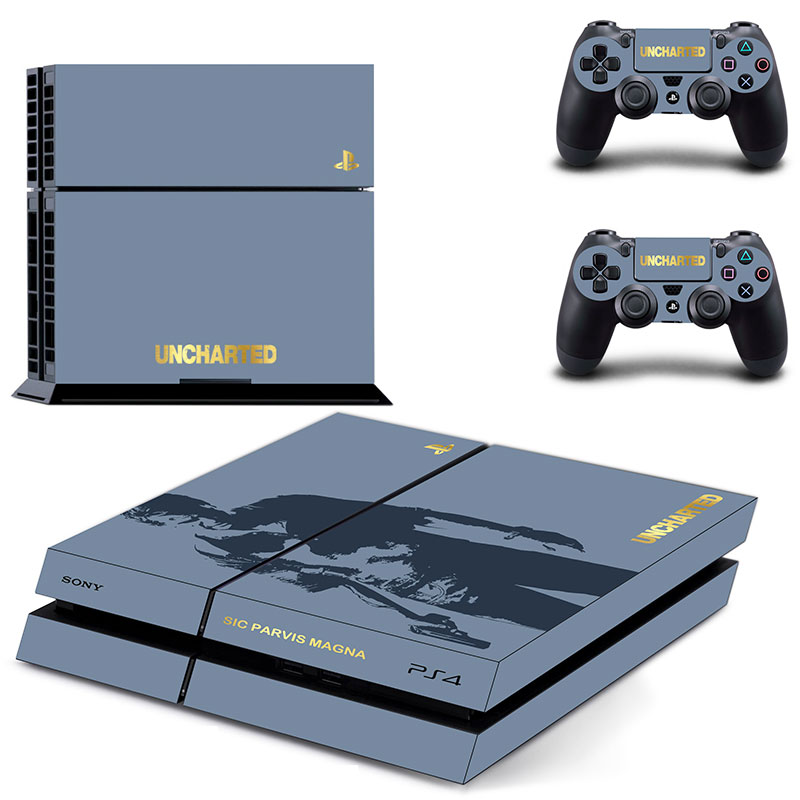 Uncharted Ps4 Skin Skull Style Skins Sticker For Sony Playstation
