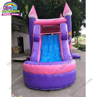7*4*3m inflatable princess bouncy house,Halloween party toys Inflatable princess carriage bounce castle