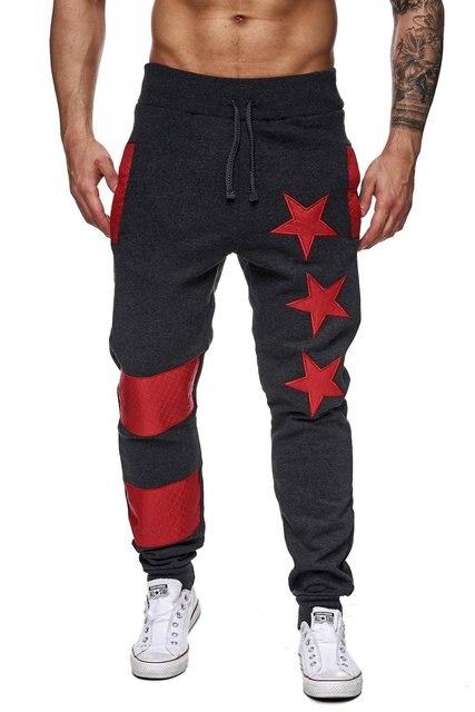 Мужчины бегунов брюки 2016 новое прибытие звезда исправленными бегунов штаны хорошее качество хлопок тактические брюки размер 2xl