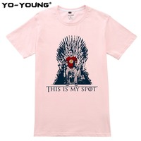 The Big Bang Theory T Shirt This Is My Spot Games Of Thrones Men T Shirts