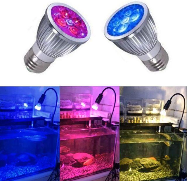 LED Aquarium Light Plant Lighting Reef Fish Tank Lamp E27 Bulb for Marine Reef Coral Fish Algae Plant