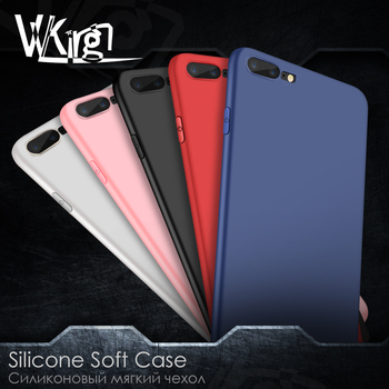 VVKing For iphone 6 6s plus Slim Soft Back Phone Case For iphone 7 8 Plus X XS Max XR Cover Luxury Candy Colors Matte Back Coque