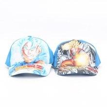 2018 Dragon Ball Z Super Saiyan hijo Goku Vegetto gorra de béisbol  ajustable hip-hop Snapback sombrero para los niños cb1b5a79c62