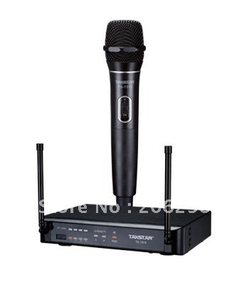 wholesale top single handheld ch uhf wireless takstar ts 7310 uhf wireless hand held microphone. Black Bedroom Furniture Sets. Home Design Ideas