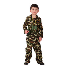 M-XL Free shipping Children's Halloween Costumes Boys soldiers Costumes Kids soldiers Cosplay game uniforms m xl free shipping children s halloween costumes harry potter costume boys magician costume kids cosplay