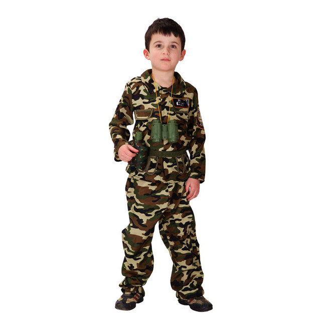 Boys Halloween Army camouflage uniform Costume Kids soldier Cosplay Children Special forces Role play Carnival Purim  sc 1 st  AliExpress.com & Boys Halloween Army camouflage uniform Costume Kids soldier Cosplay ...