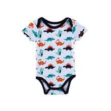 1 Piece Cotton Style Baby Girl Boy Winter Clothes Dinosaur New Born Body Baby Ropa Character Next Baby Bodysuit r007