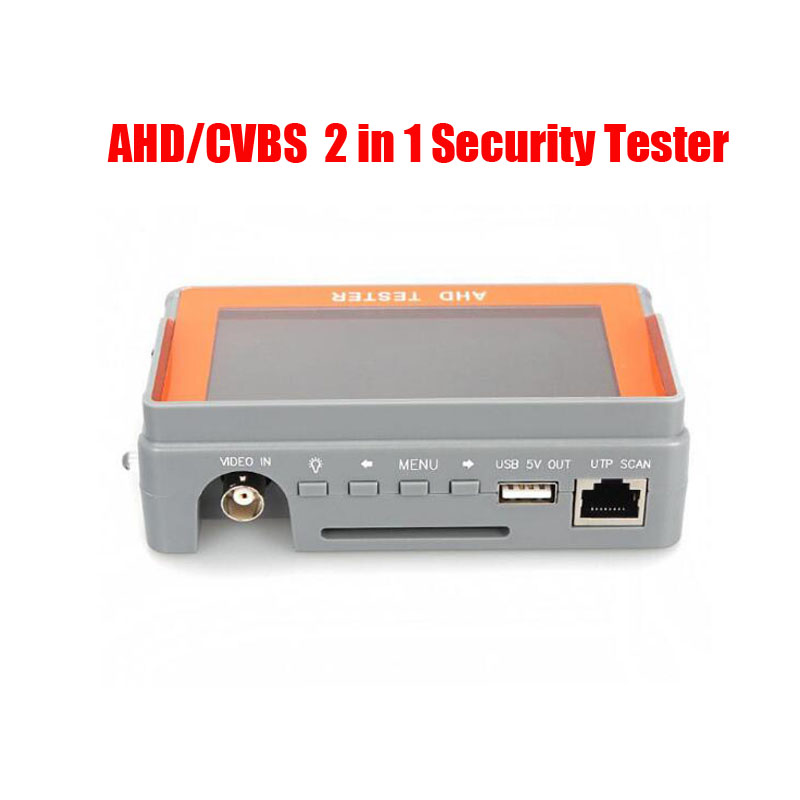 Free Shipping 4.3 Inch AHD CVBS 2 in 1 CCTV Tester  AHD 1080P Analog Camera UTP Cable Tester 12V1A USB 5V OutputFree Shipping 4.3 Inch AHD CVBS 2 in 1 CCTV Tester  AHD 1080P Analog Camera UTP Cable Tester 12V1A USB 5V Output