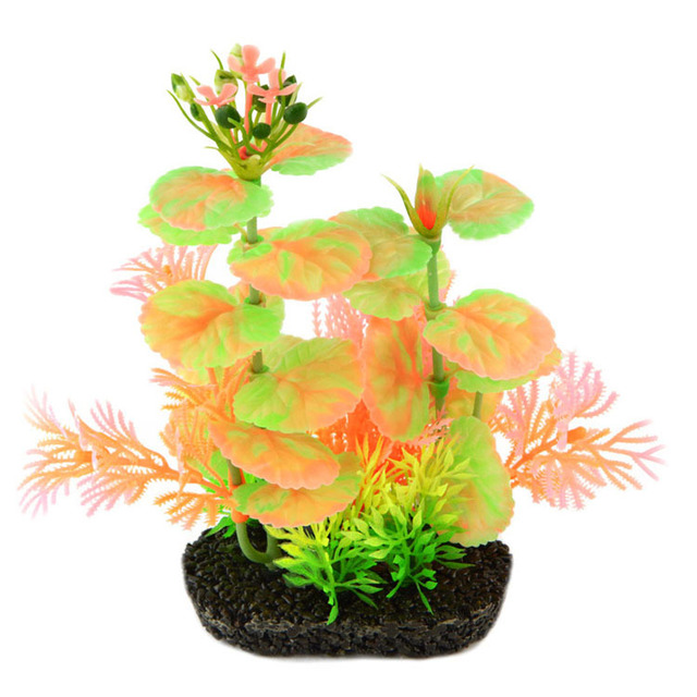 new fish tank aquarium decorations 18cm beautiful artificial plastic