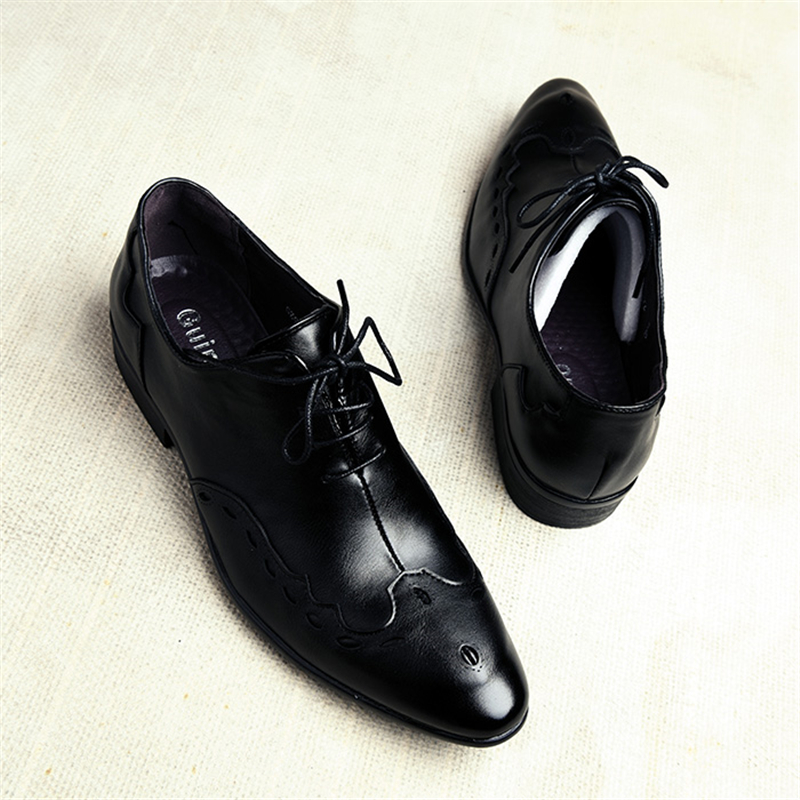 Men's Shoes Formal Shoes Popular Brand Plus Size Luxury Italian Style Fashion Mens Dress Leather Formal Shoes Snake Skin Dress Office Wedding Shoes Drop Shipping