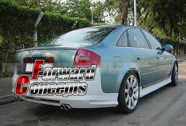 FOR 98-04 A6 RS6 C5 SEDAN AB STYLE REAR WING TRUNK SPOILER image
