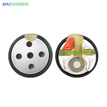 цена на MACGARSEN 10pcs 6mm Earphone Speaker Unit 16 ohm Repair In-ear Bass Earphone Moving Coil Unit DIY Wireless Earearplug for Phone