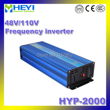 frequency inverter Dc to Ac Micro Inverter Input: 48V/110V HYP-2000 200W 50/60Hz Pure Sine Inverter
