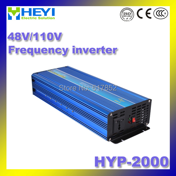 frequency inverter Dc to Ac Micro Inverter Input: 48V/110V HYP-2000 200W 50/60Hz Pure Sine Inverter 48v 110v hyp 6000 50 60hz dc to ac power inverter soft start power inverter low work noise sine wave inverter