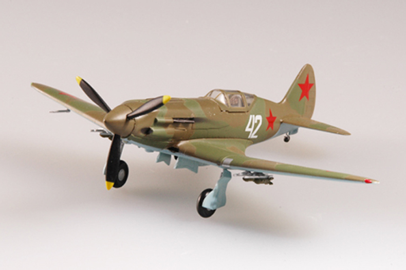 Trumpet  1:72 Soviet MIG -3 Fighter Seventh Aviation 37223 Finished Product Model