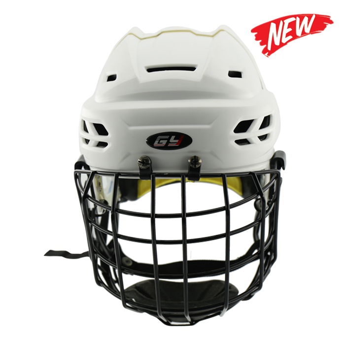Free Shipping CE HECC CSA approved New Design Ice hockey helmet hockey sport helmet with mask For Adlut goalie mask hockey goalie helmet for goalikeeper free shipping