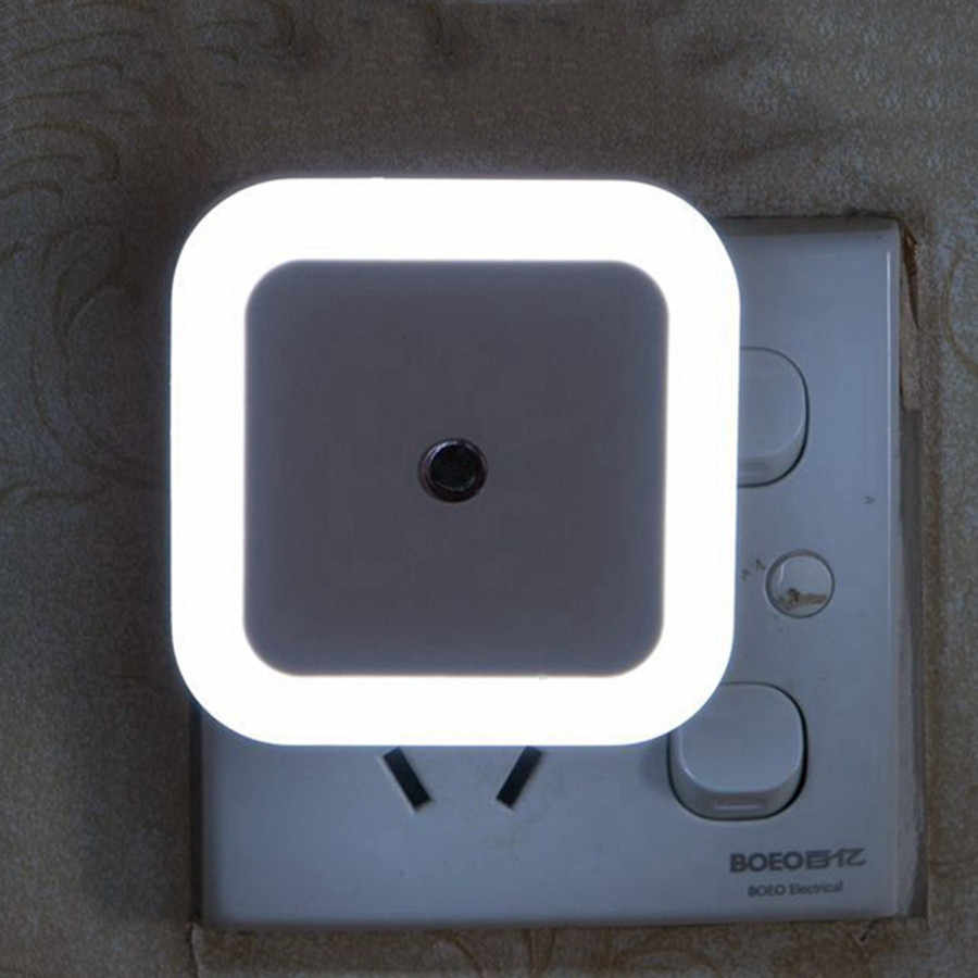 BEIAIDI Novelty Mini LED Auto Light Sensor Night Light EU US ปลั๊กเด็กทารก Night Light AC110-220V