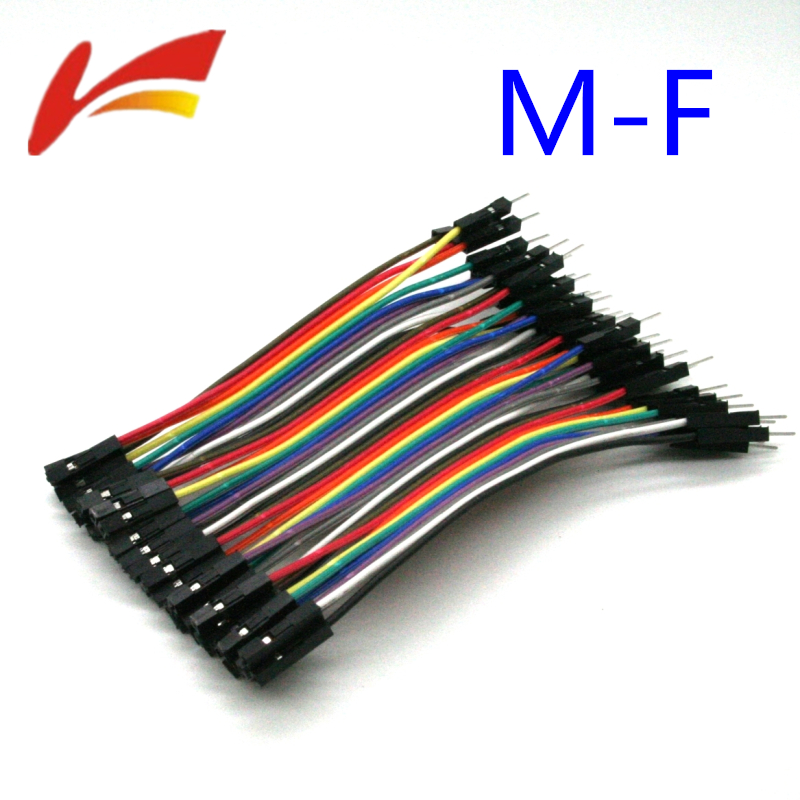 1lot-40pcs-10cm-254mm-1pin-1p-1p-male-to-female-jumper-wire-dupont-cable-for-font-b-arduino-b-font