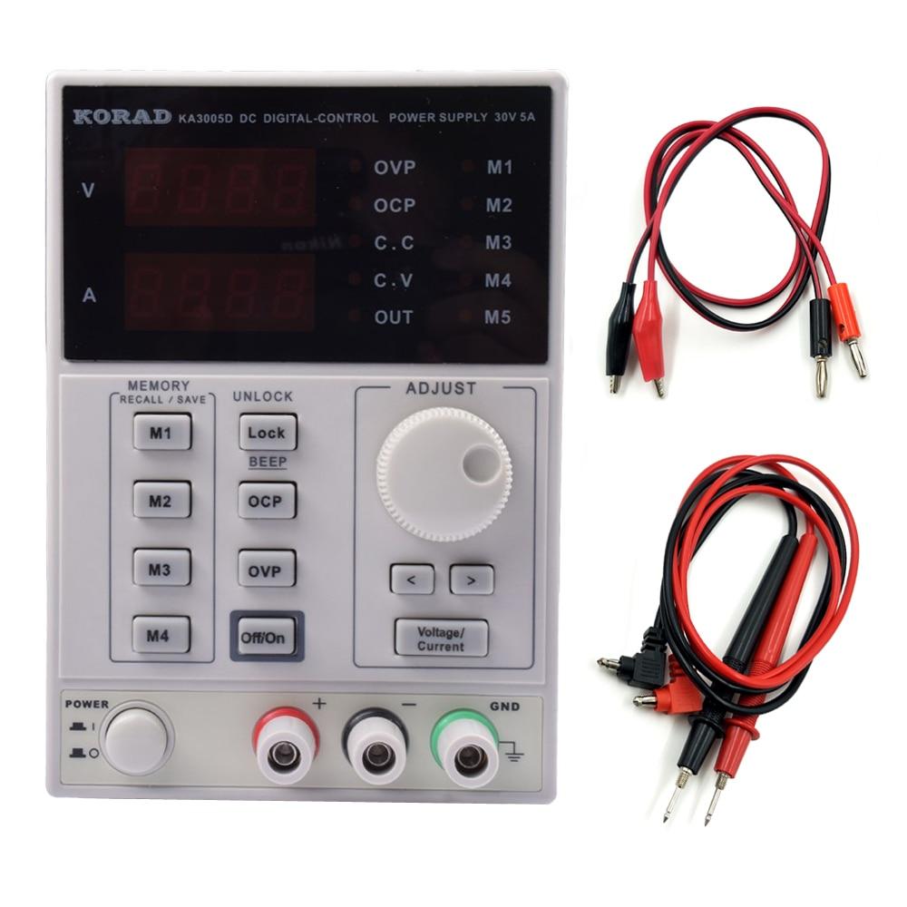 KORAD KA3005D KA3005P KD3005D Precision Adjustable Digital Programmable Laboratory Switching DC Power Supply 30V 5A