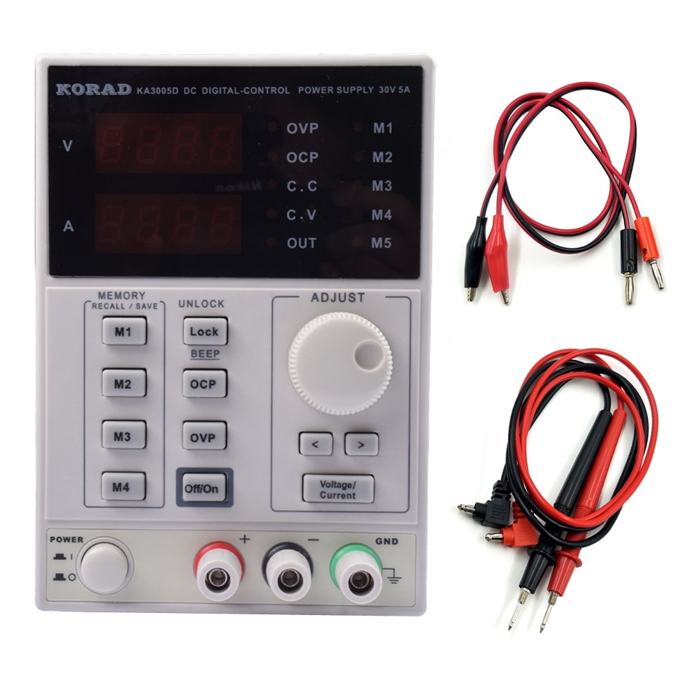 KORAD KA3005D KA3005P KD3005D Precision Adjustable Digital Programmable Laboratory Switching DC Power Supply 30V 5A