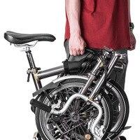 Marco para bicicleta plegable caliente correa de transporte empuñaduras de mano para manillar accesorios de bicicleta DO2