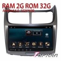 Android 6.0 автомобилей video 9 ''игроков для Chevrolet Парус 2010 2014 topnavi Авто Медиа с ТВ GPS Радио телевизионные антенны Полная поддержка RCA