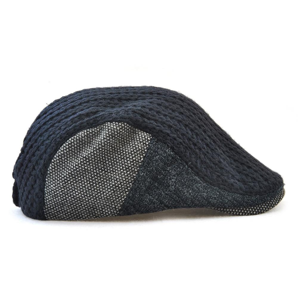ee5f6024fb3 Προϊόν - TOHUIYAN Mens Knitted Wool Newsboy Hat Winter Warm Beret ...