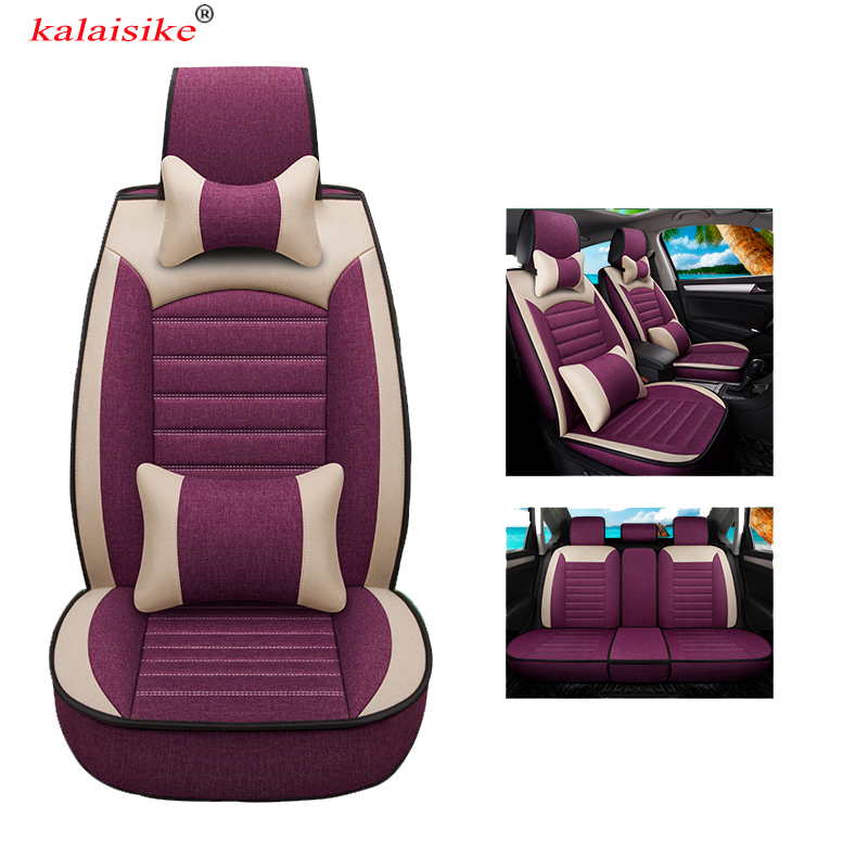 Kalaisike Universal Flax Car Seat Covers For Chrysler All