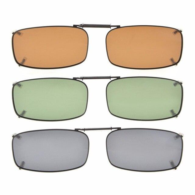 c252055a0 C87 Eyekepper Gris/Marrón/G15 Lente 3 pack Clip on gafas de Sol ...